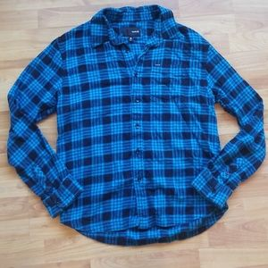 Hurley Medium Flanned Button Down